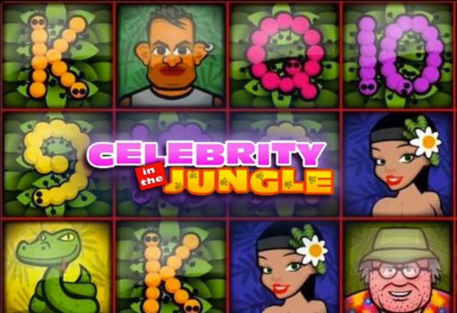 The Celebrity in the Jungle Online Slot Demo Game by 1x2 Gaming