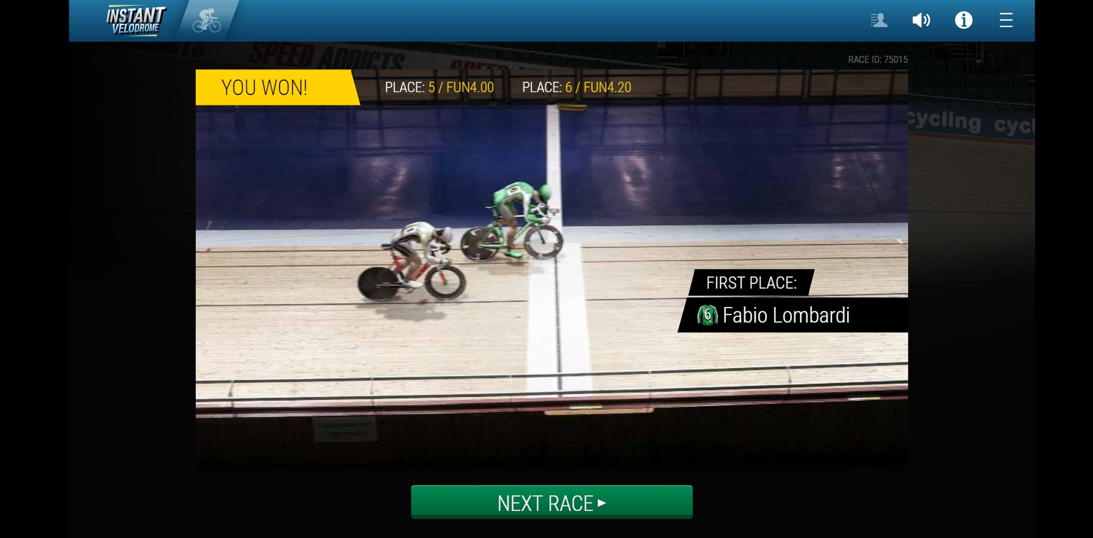 Win Money in Instant Virtual Cycling Free Slot Game by 1x2 Gaming