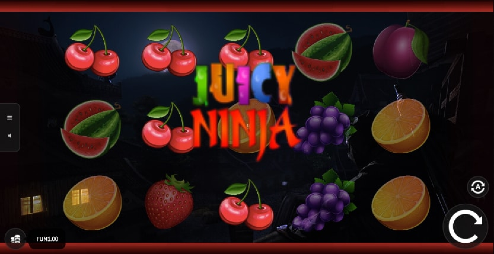 The Juicy Ninja Online Slot Demo Game by 1x2 Gaming