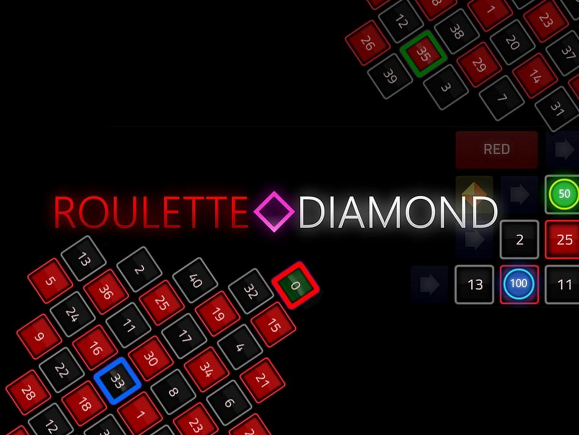 The Roulette Diamond (1X2gaming) Online Slot Demo Game by 1x2 Gaming