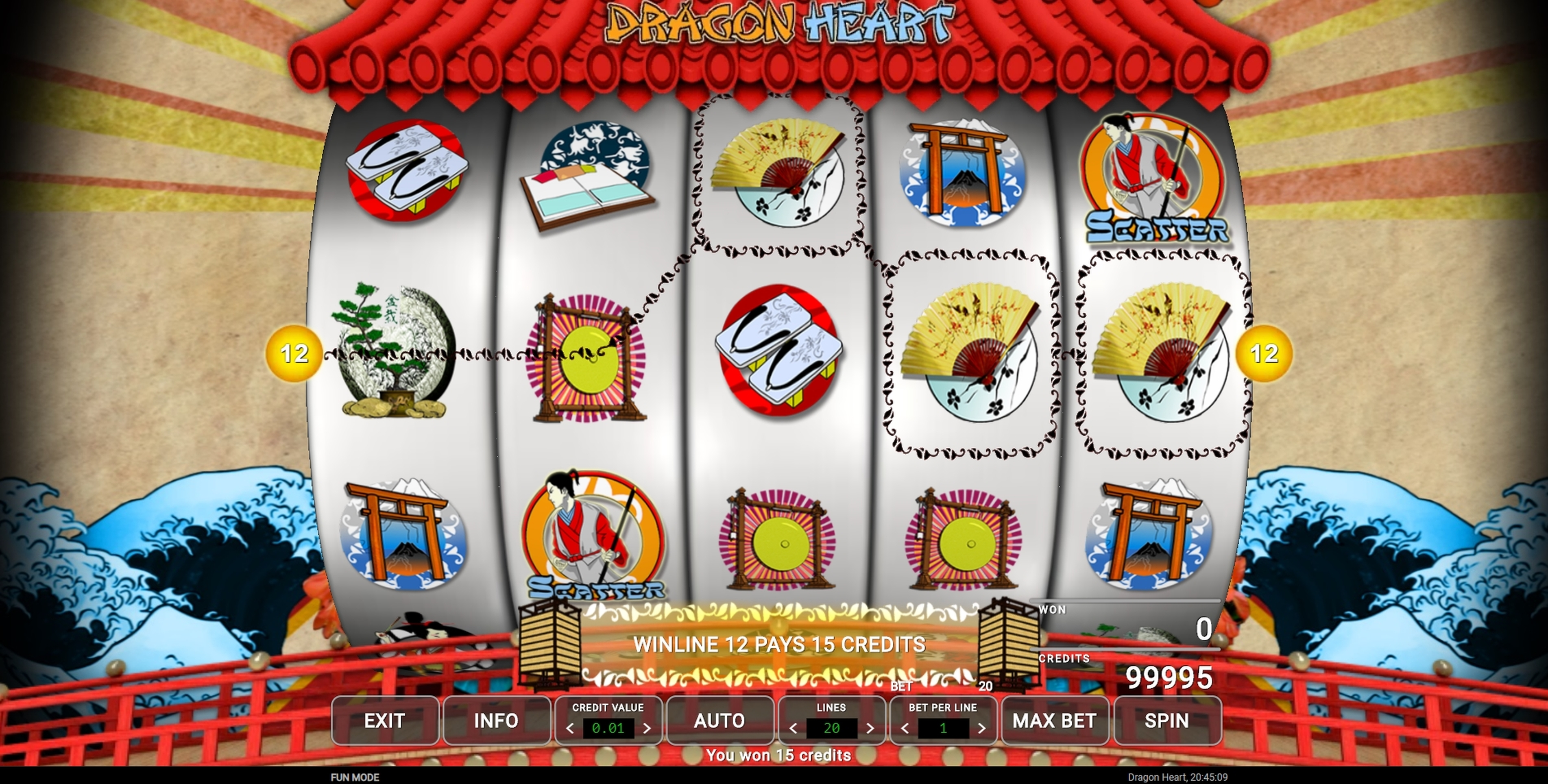 Win Money in Dragon Heart Free Slot Game by CQ9Gaming