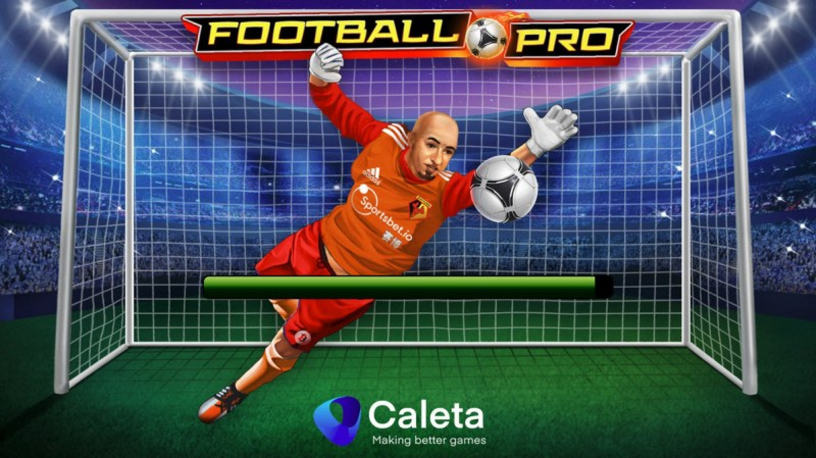 The Football Pro Online Slot Demo Game by Caleta Gaming
