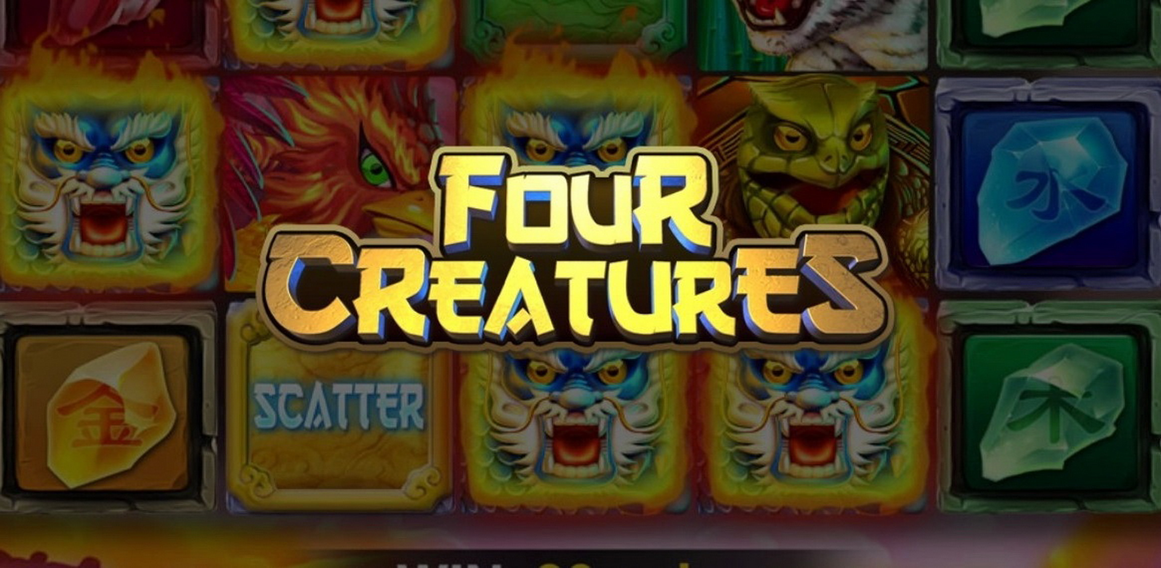 The Four Creatures (D-Tech) Online Slot Demo Game by D-Tech