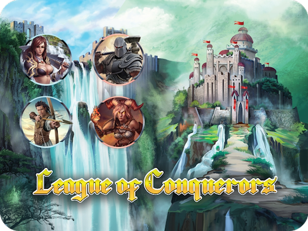 The League of Conquerors Online Slot Demo Game by Gamatron