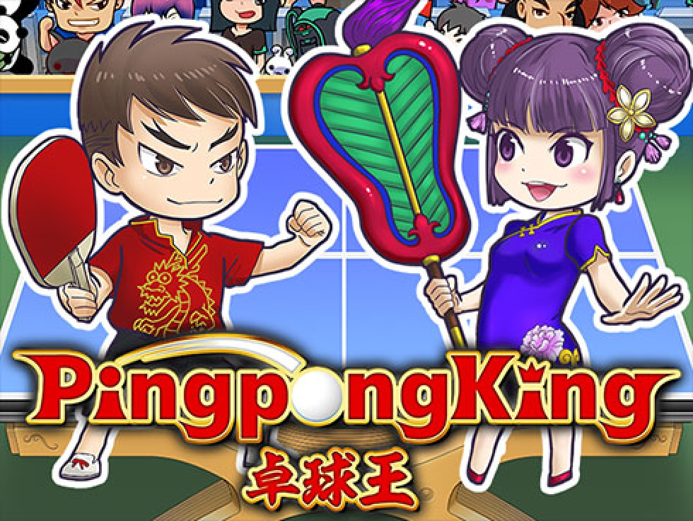 The Ping Pong King Online Slot Demo Game by Gamatron