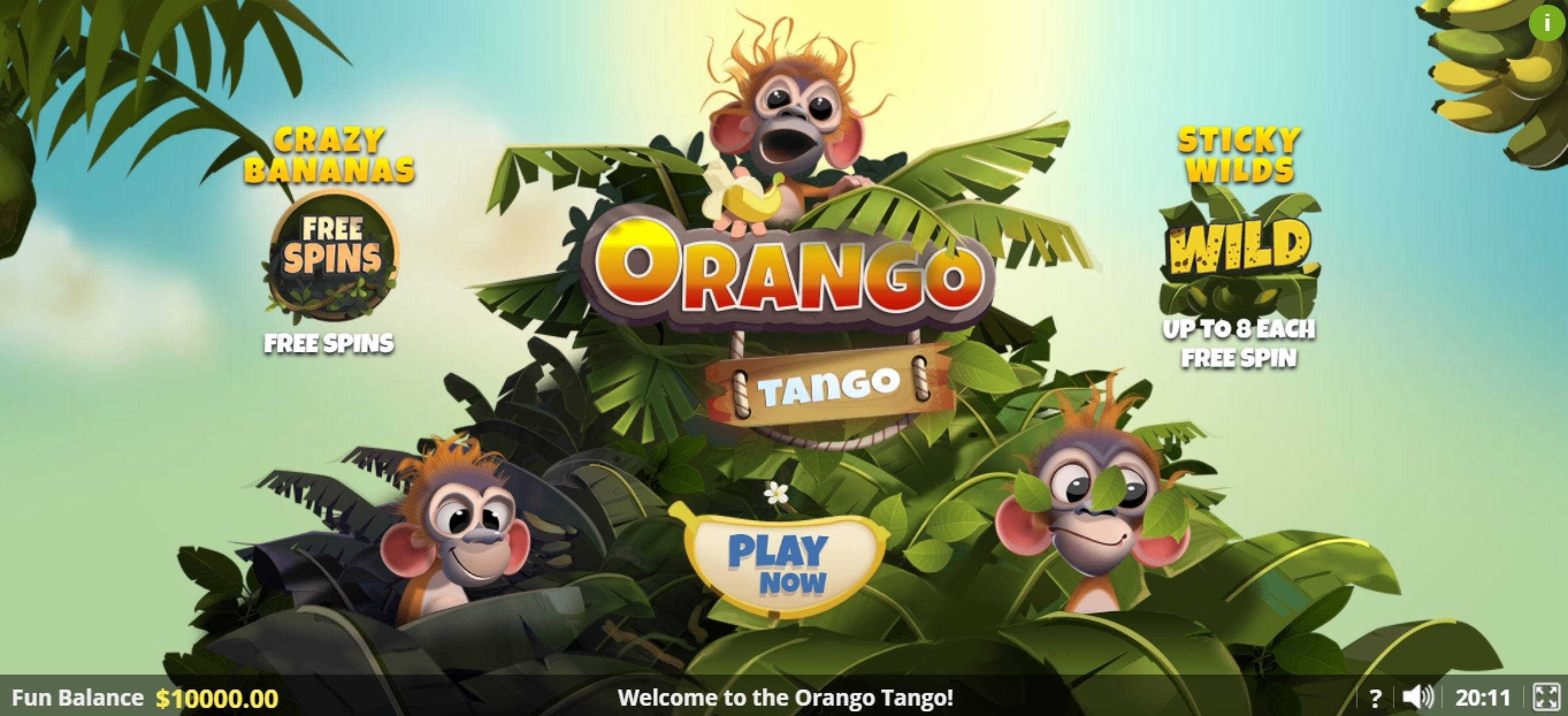 Play Orango Tango Free Casino Slot Game by Lady Luck Games