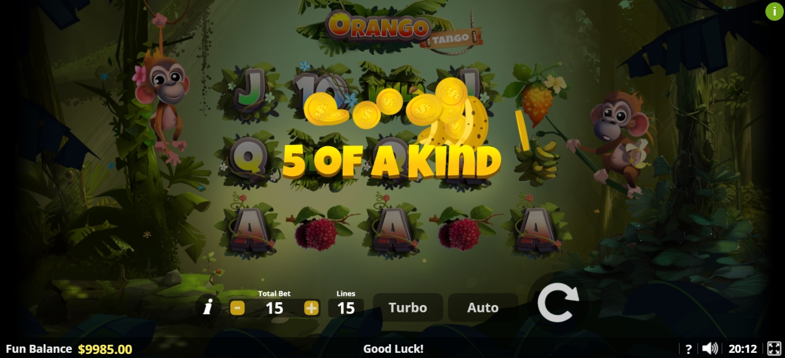 Win Money in Orango Tango Free Slot Game by Lady Luck Games
