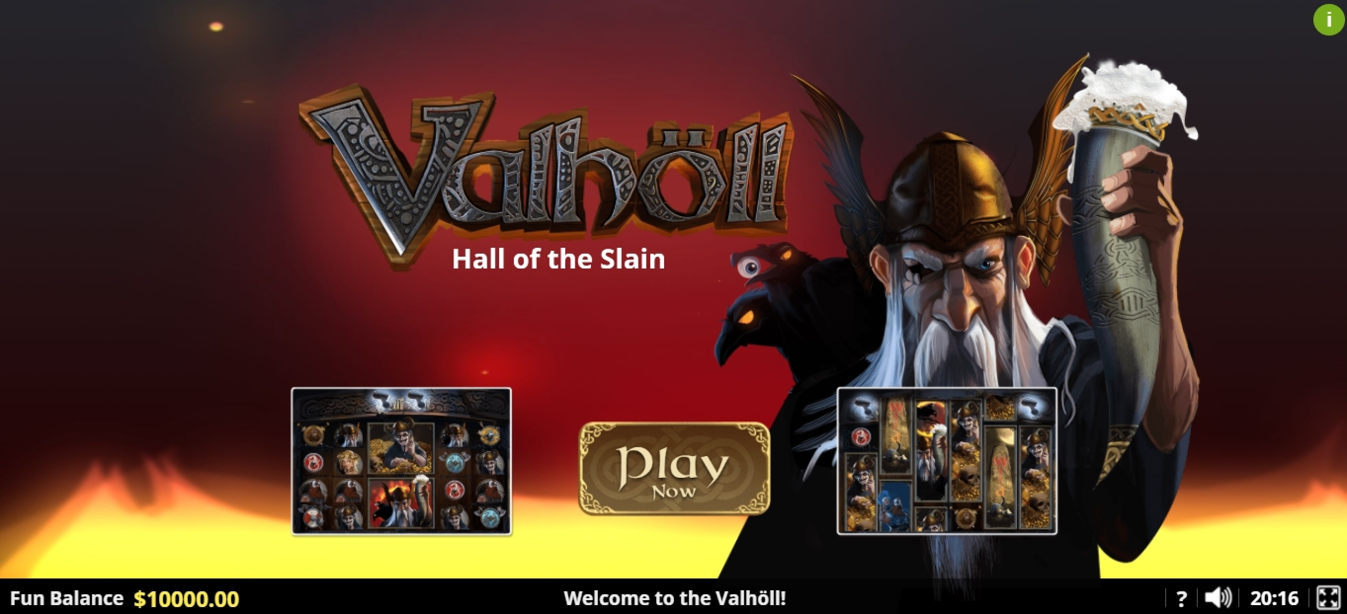 Play Valhôll Hall of The Slain Free Casino Slot Game by Lady Luck Games