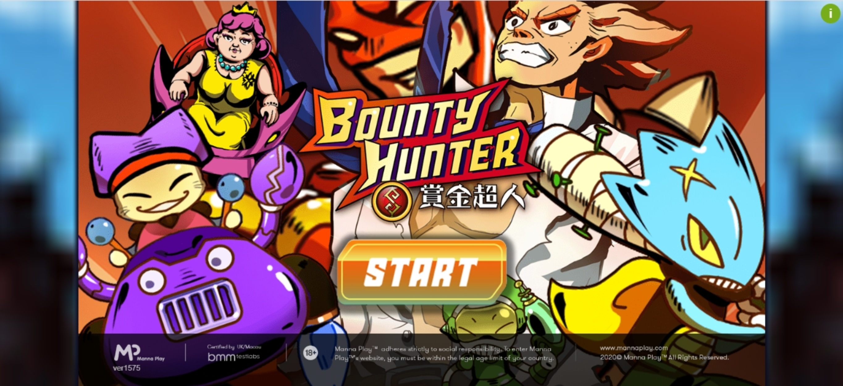 Play Bounty Hunter (Manna Play) Free Casino Slot Game by Manna Play
