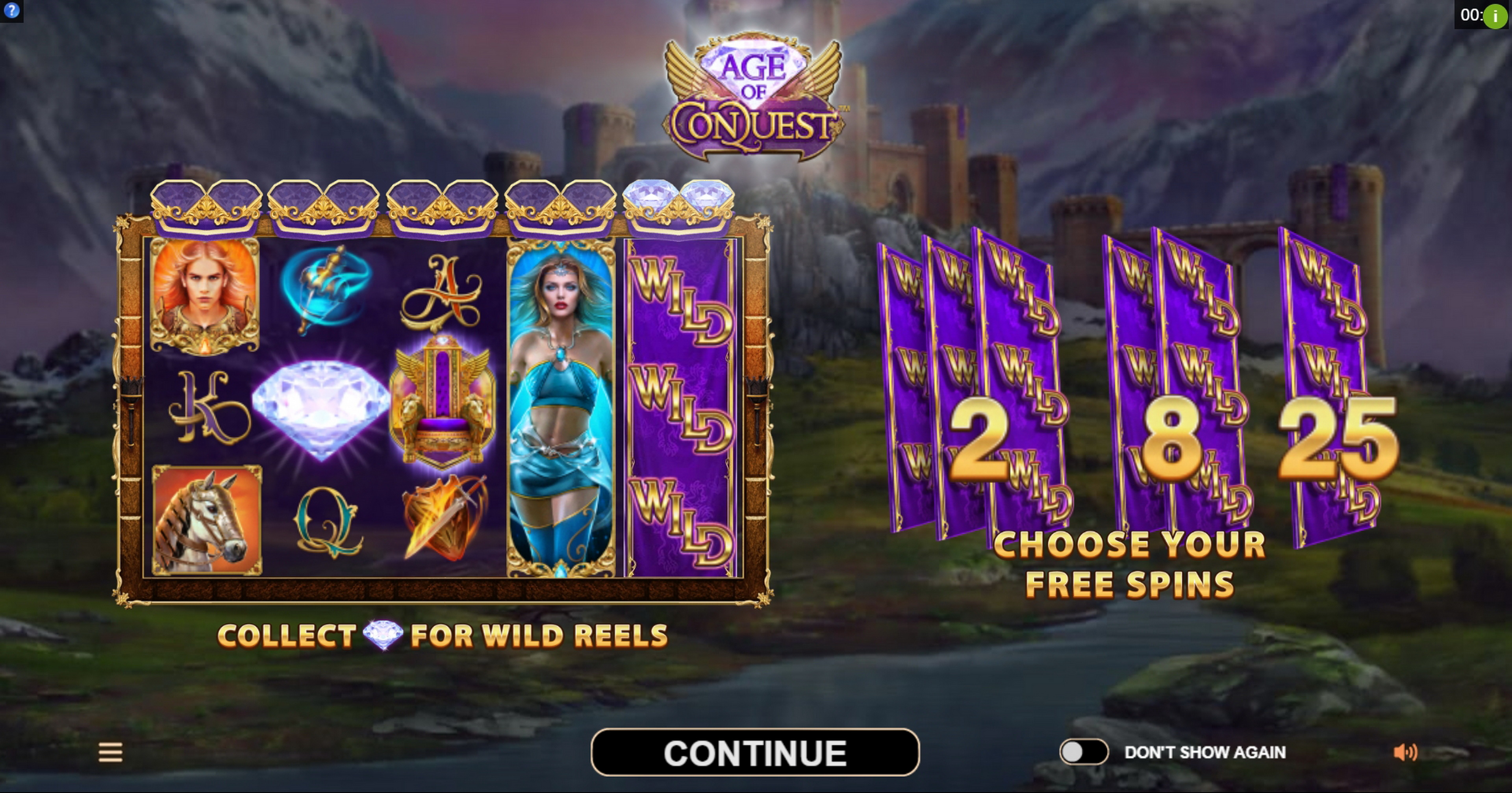 Play Age of Conquest Free Casino Slot Game by Neon Valley Studios