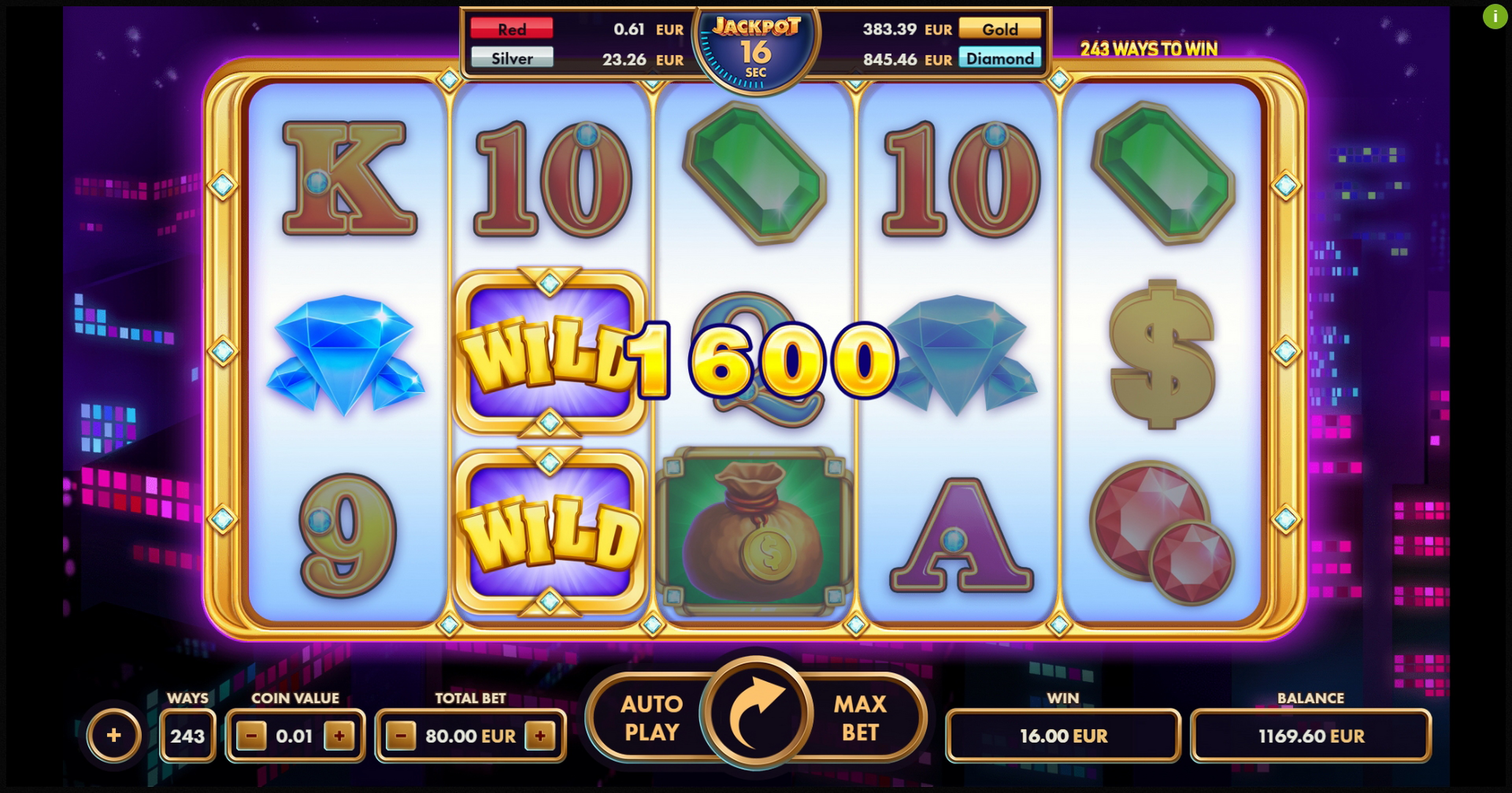 Win Money in Fortune Cash Free Slot Game by NetGame
