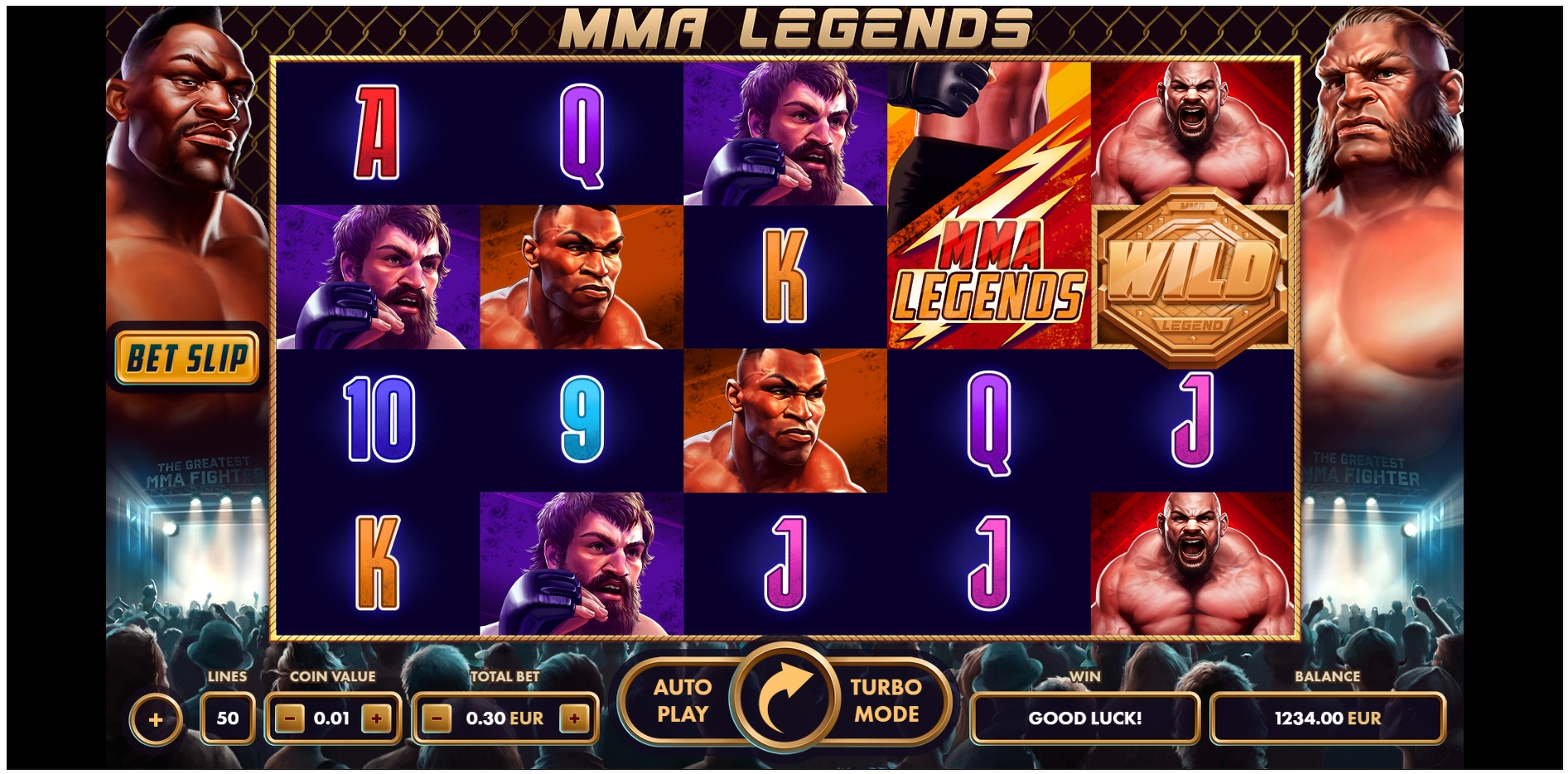 Reels in MMA Legends Slot Game by NetGame