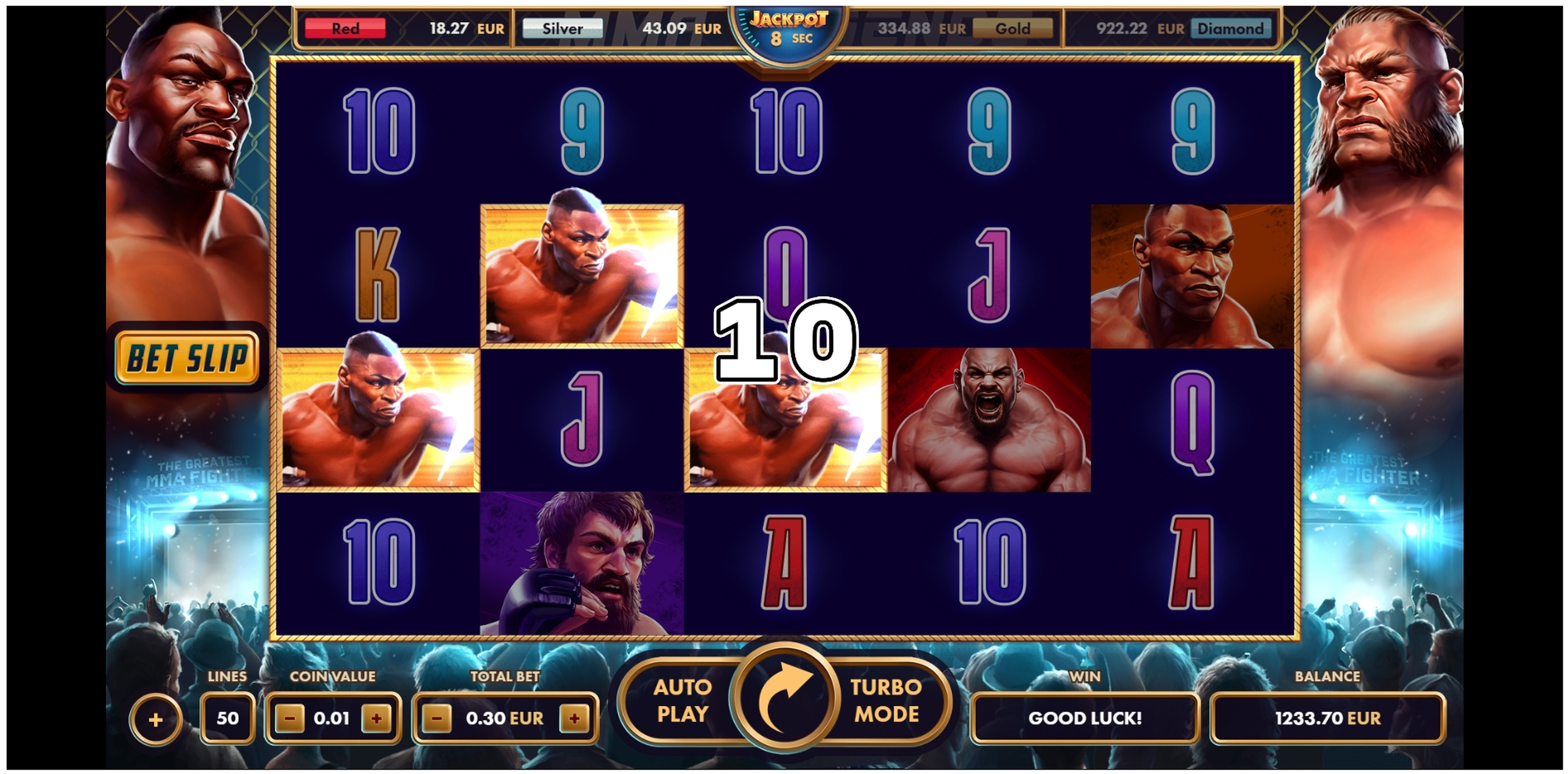 Win Money in MMA Legends Free Slot Game by NetGame