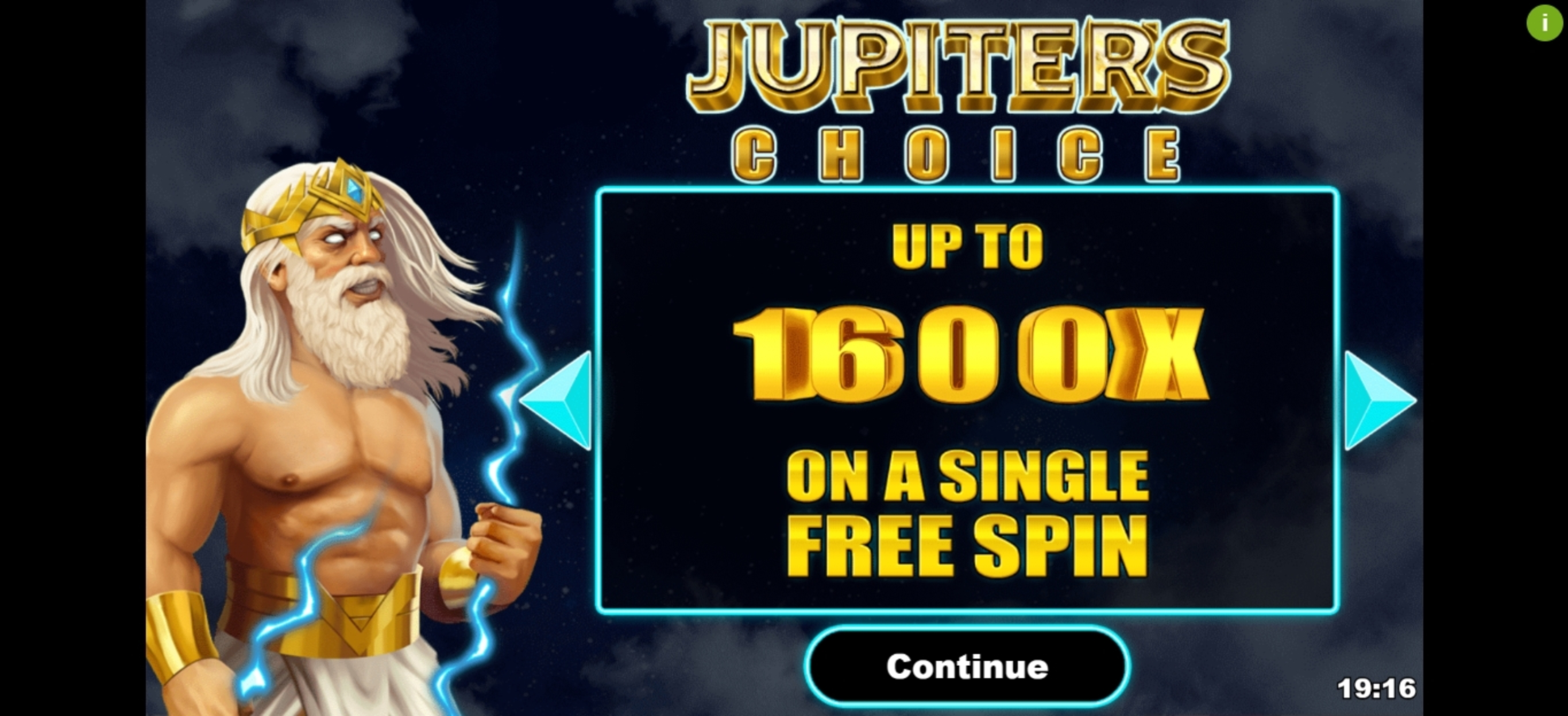 Play Jupiter's Choice Free Casino Slot Game by Sapphire Gaming