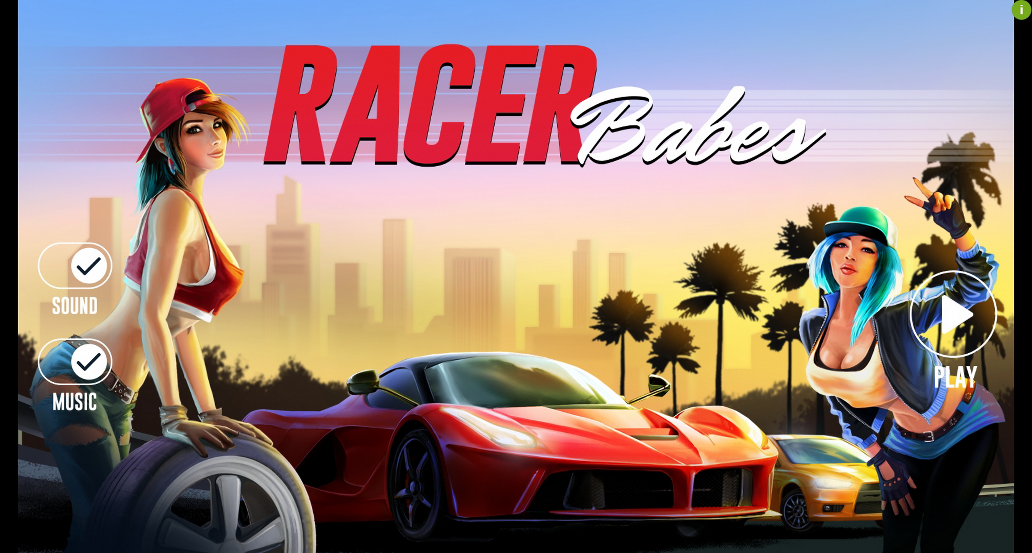 Play Racer Babes Free Casino Slot Game by Woohoo