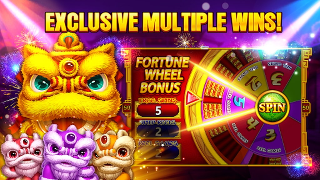Reels in Spin The Wheel Slot Game by Woohoo