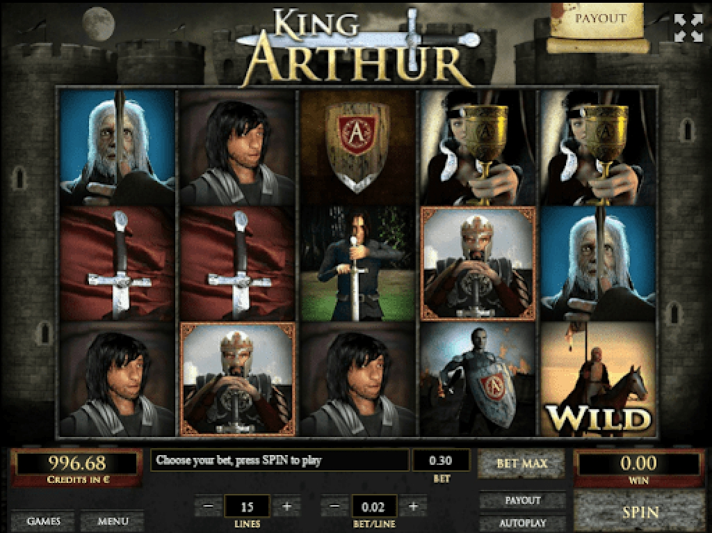 The King Arthur (X Play) Online Slot Demo Game by X Play