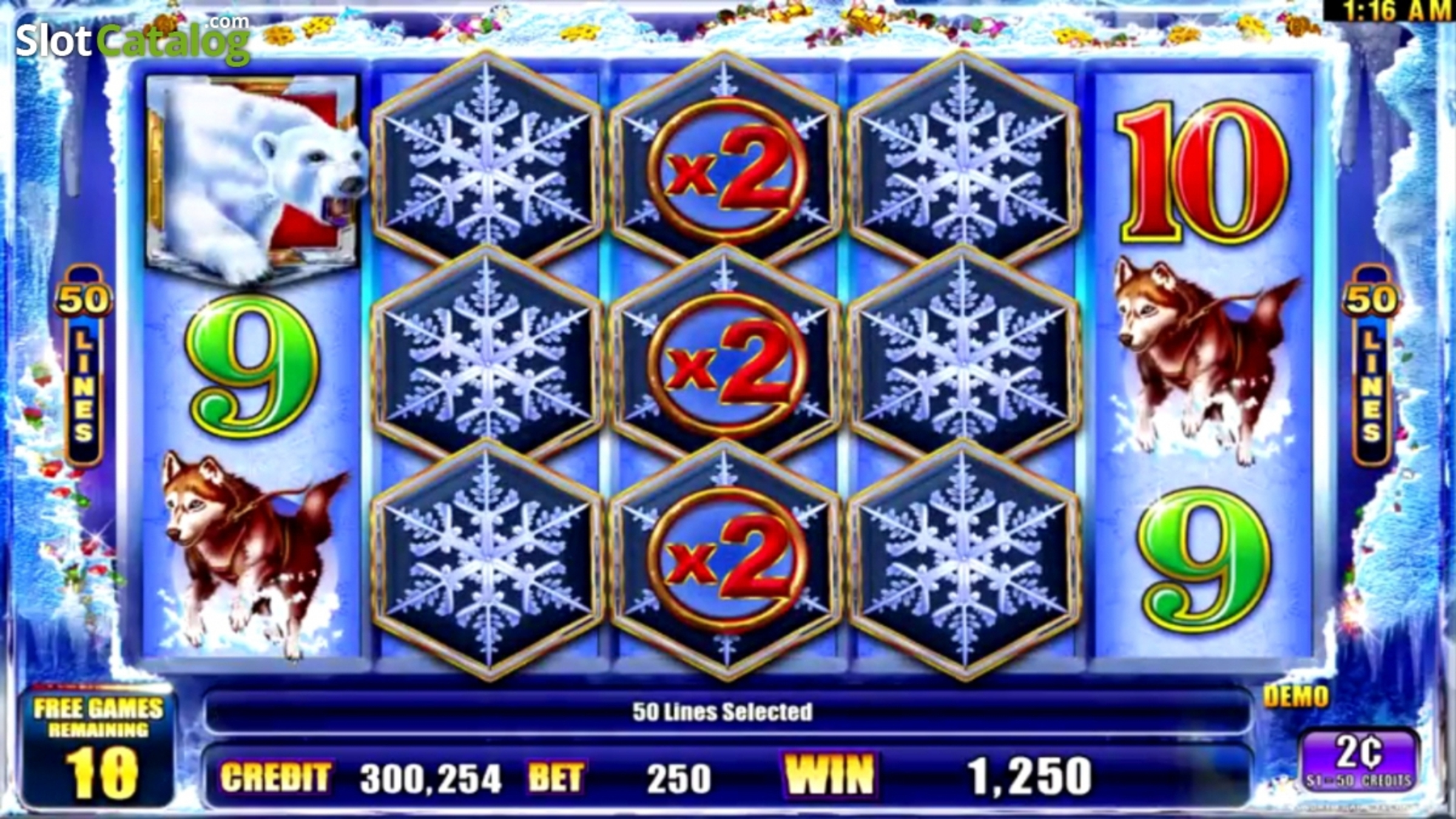 The Ice Money Online Slot Demo Game by Ainsworth Gaming Technology