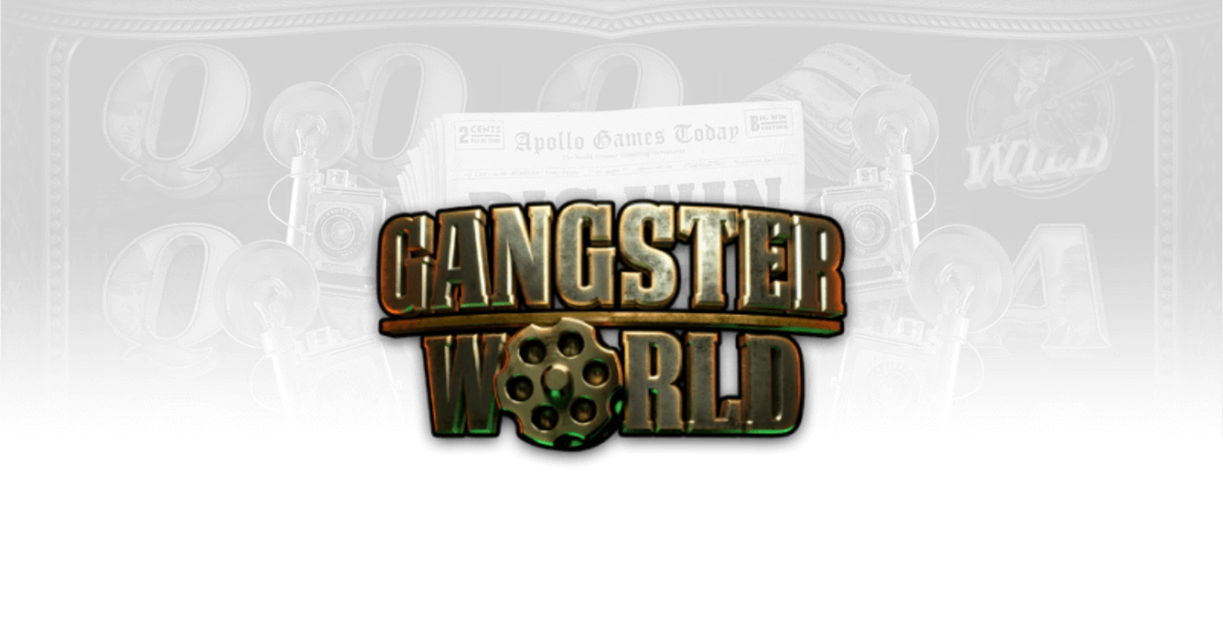 The Gangster World Online Slot Demo Game by Apollo Games