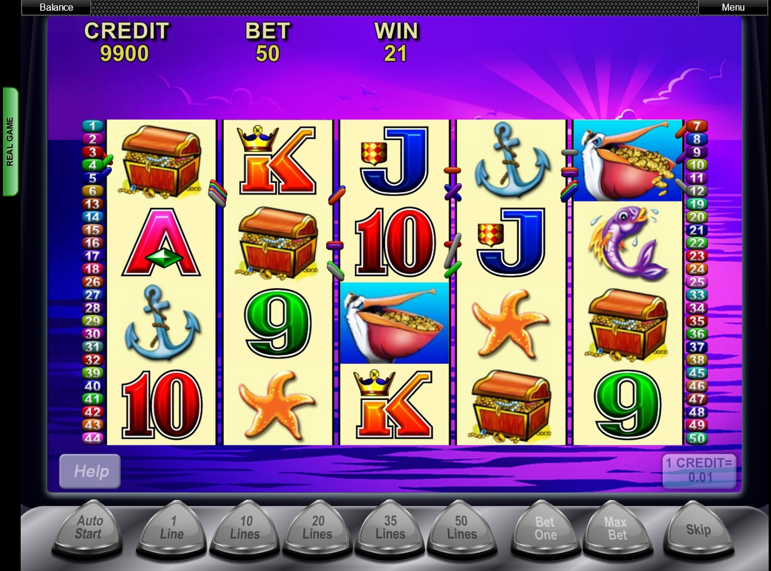 Win Money in Pelican Pete Free Slot Game by Aristocrat