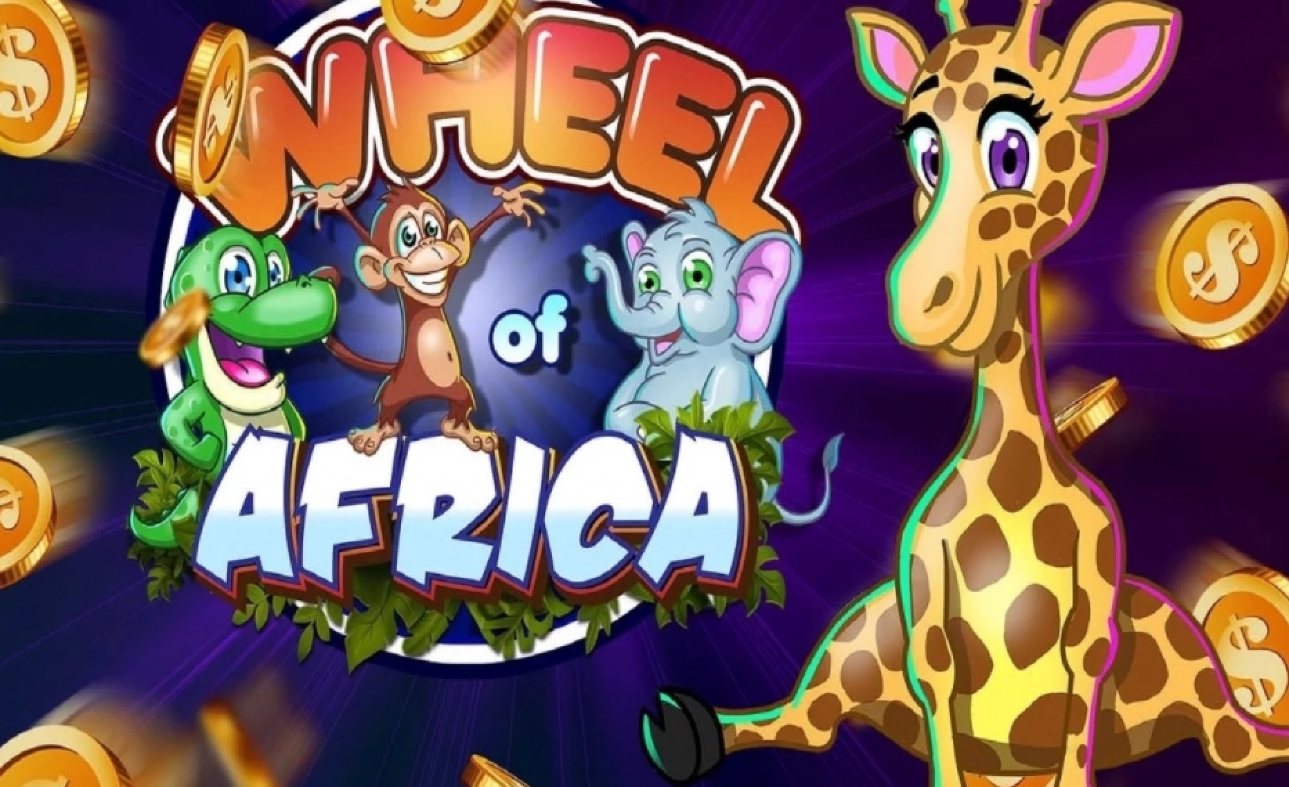 Reels in Wheel of Africa Slot Game by Asylum Labs