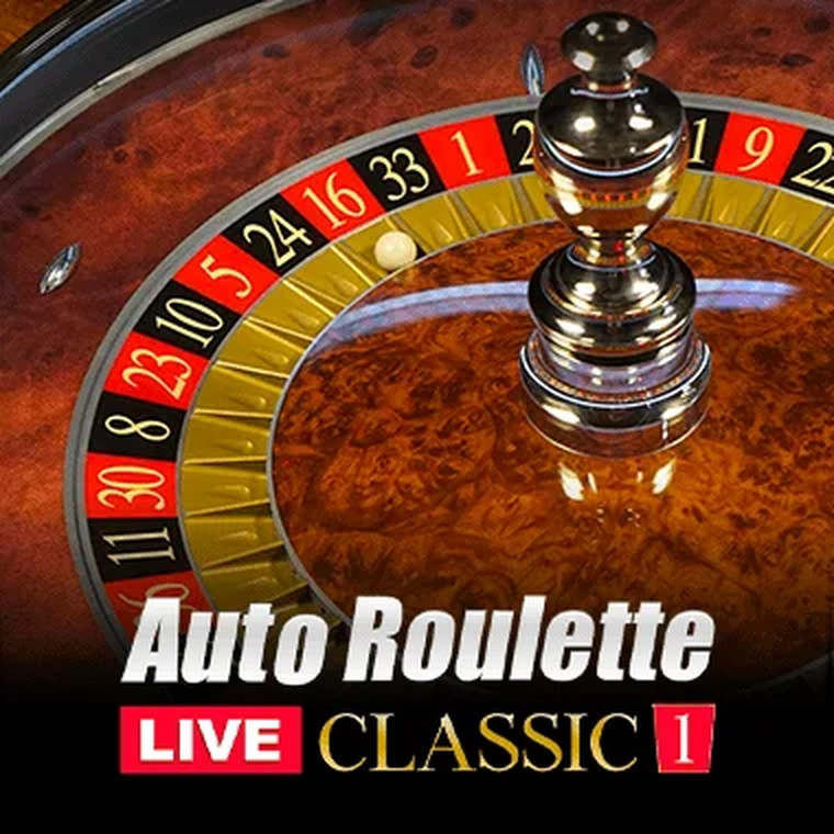 The Auto Roulette Classic 1 Live Online Slot Demo Game by Authentic Gaming