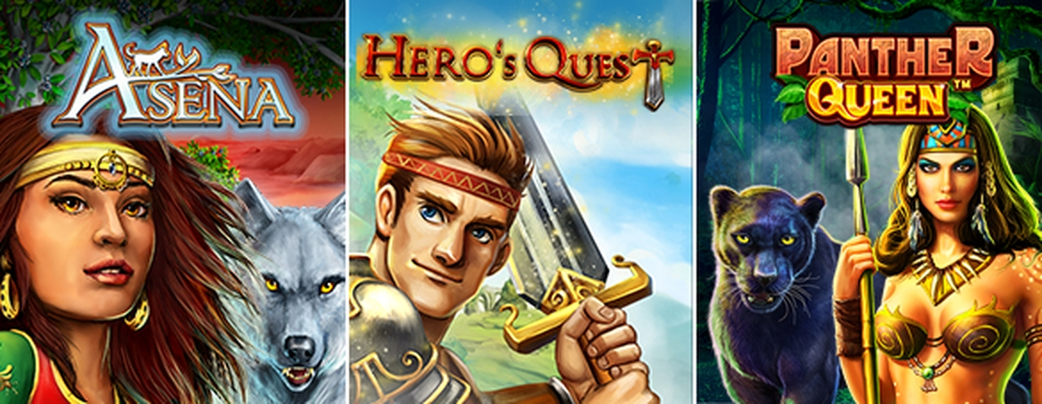 The Hero's Quest Online Slot Demo Game by Bally Wulff