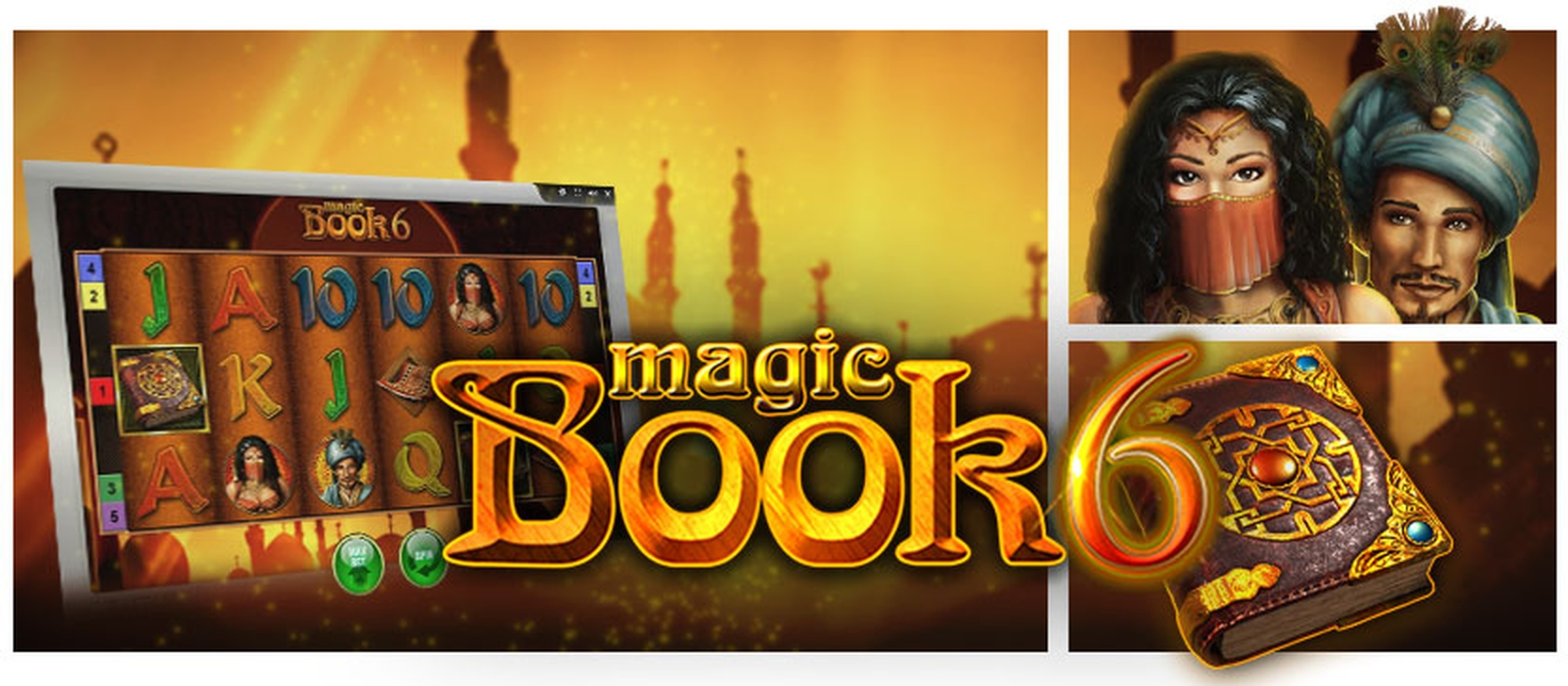 The Magic Book 6 Online Slot Demo Game by Bally Wulff