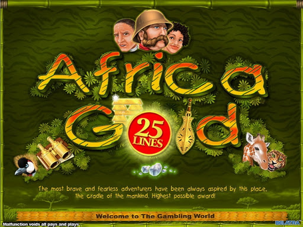 The Africa Gold Online Slot Demo Game by Belatra Games