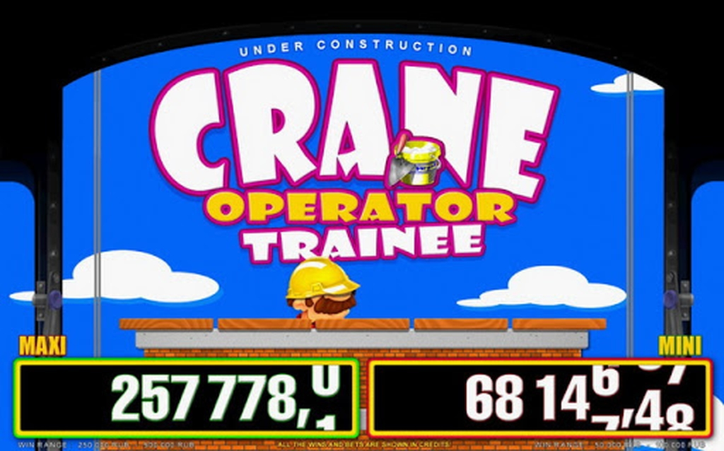The Crane Operator Trainee Online Slot Demo Game by Belatra Games