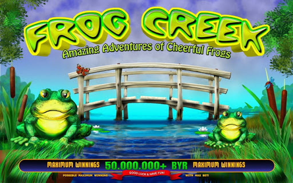 The Frog Creek Online Slot Demo Game by Belatra Games