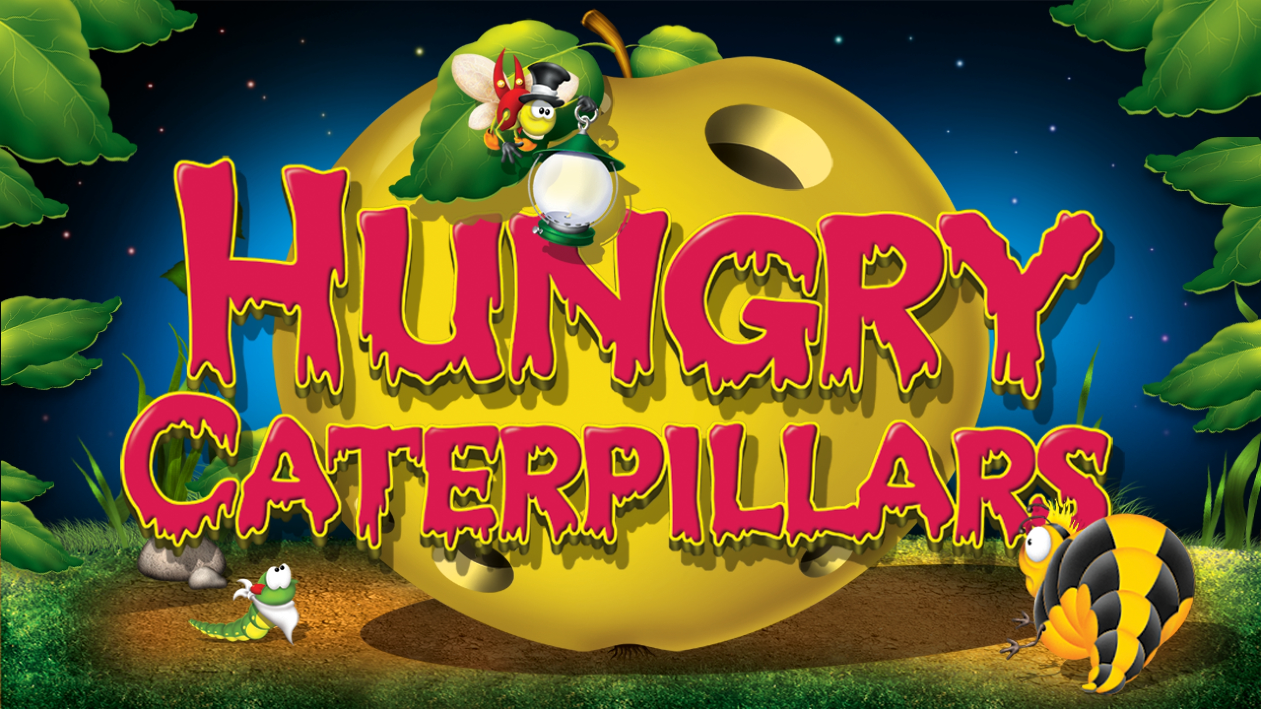 The Hungry Caterpillars Online Slot Demo Game by Belatra Games