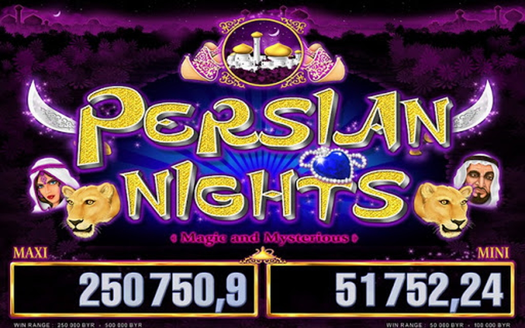 The Persian Nights Luxe Online Slot Demo Game by Belatra Games