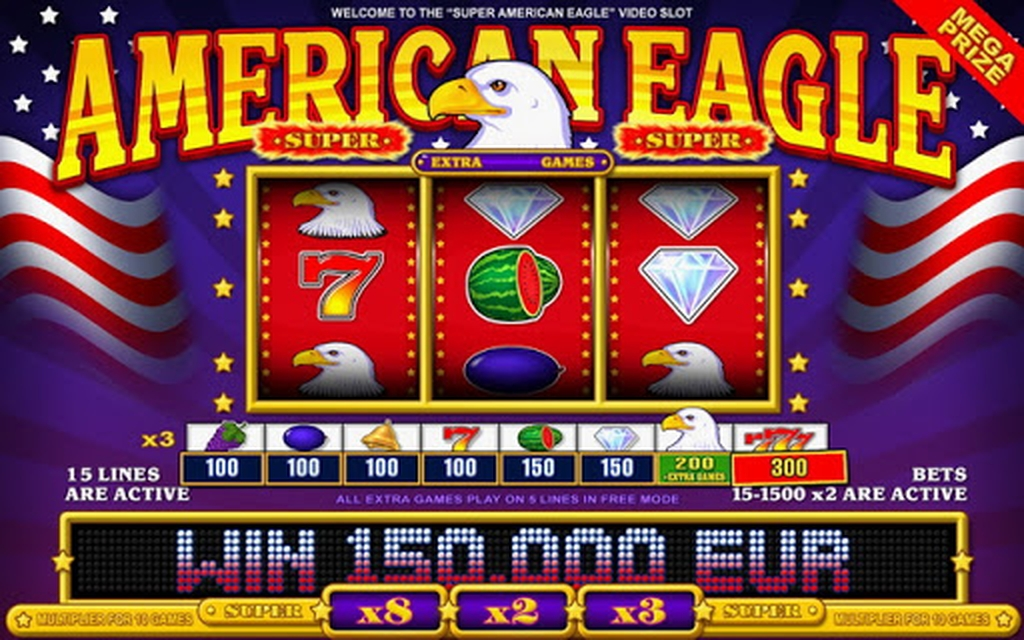 The Super American Eagle Online Slot Demo Game by Belatra Games