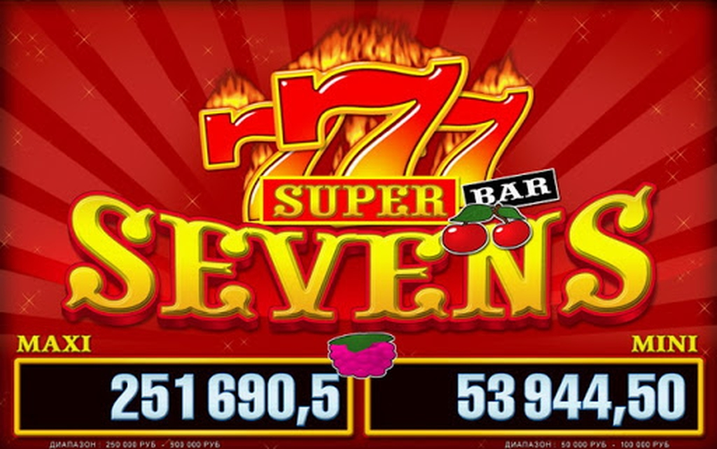 The Super Sevens Luxe Online Slot Demo Game by Belatra Games