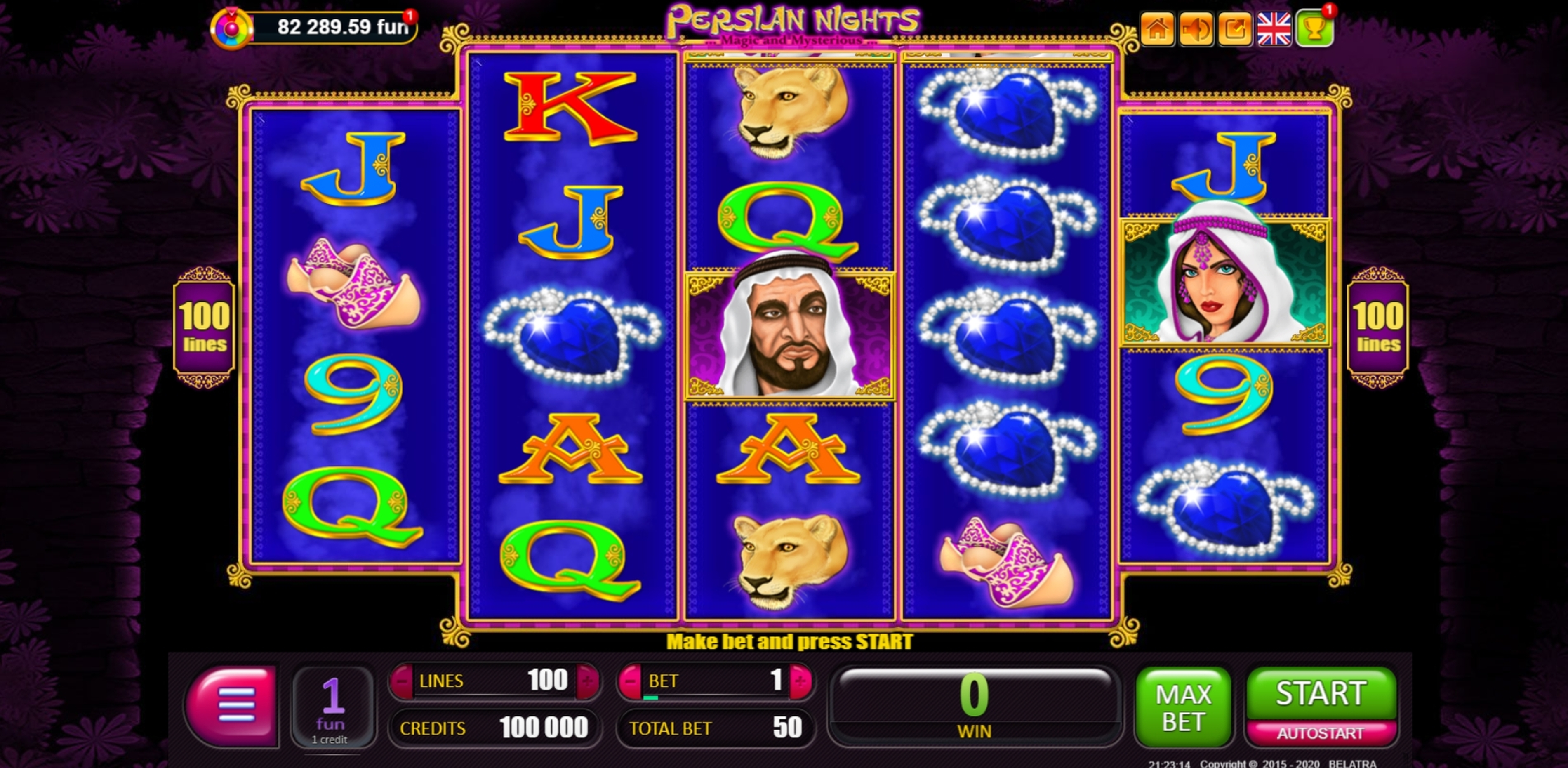 Reels in The Moneymania Slot Game by Belatra Games