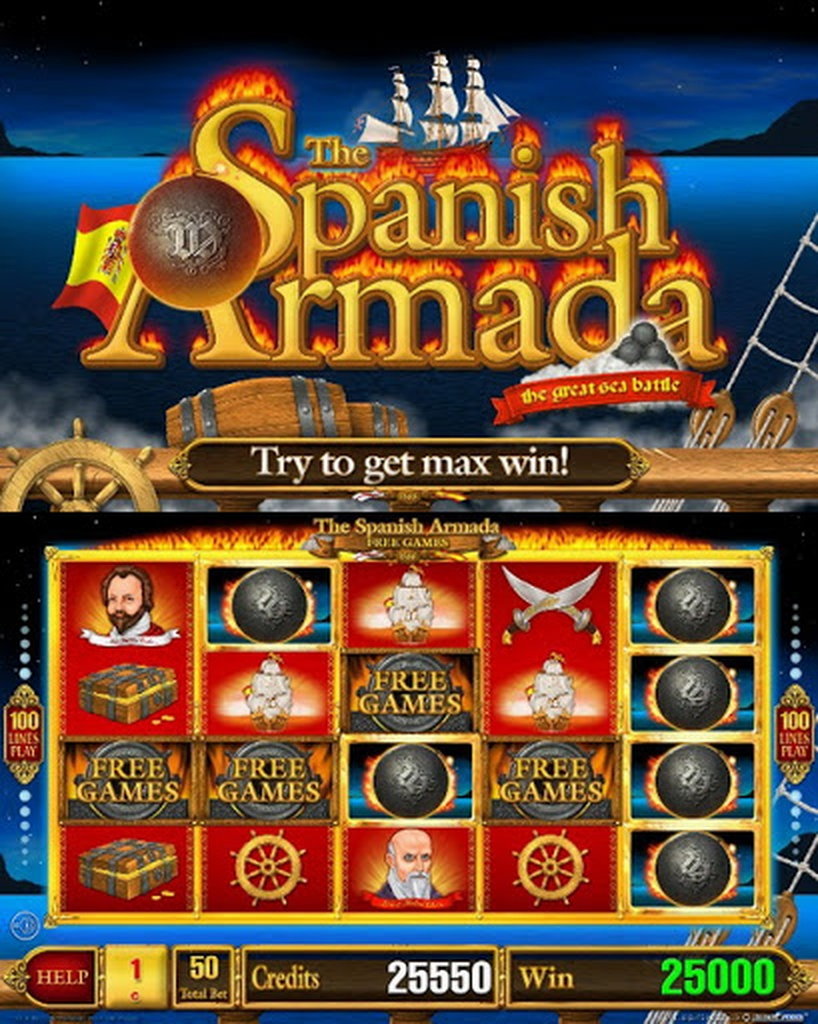 The The Spanish Armada Luxe Online Slot Demo Game by Belatra Games