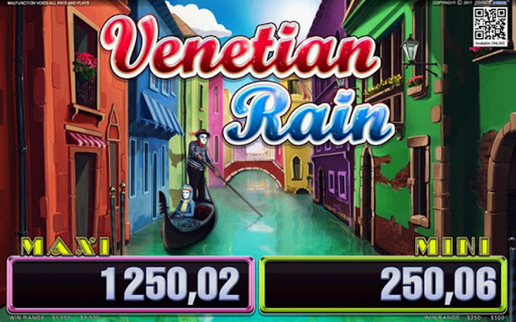 The Venetian Rain Online Slot Demo Game by Belatra Games