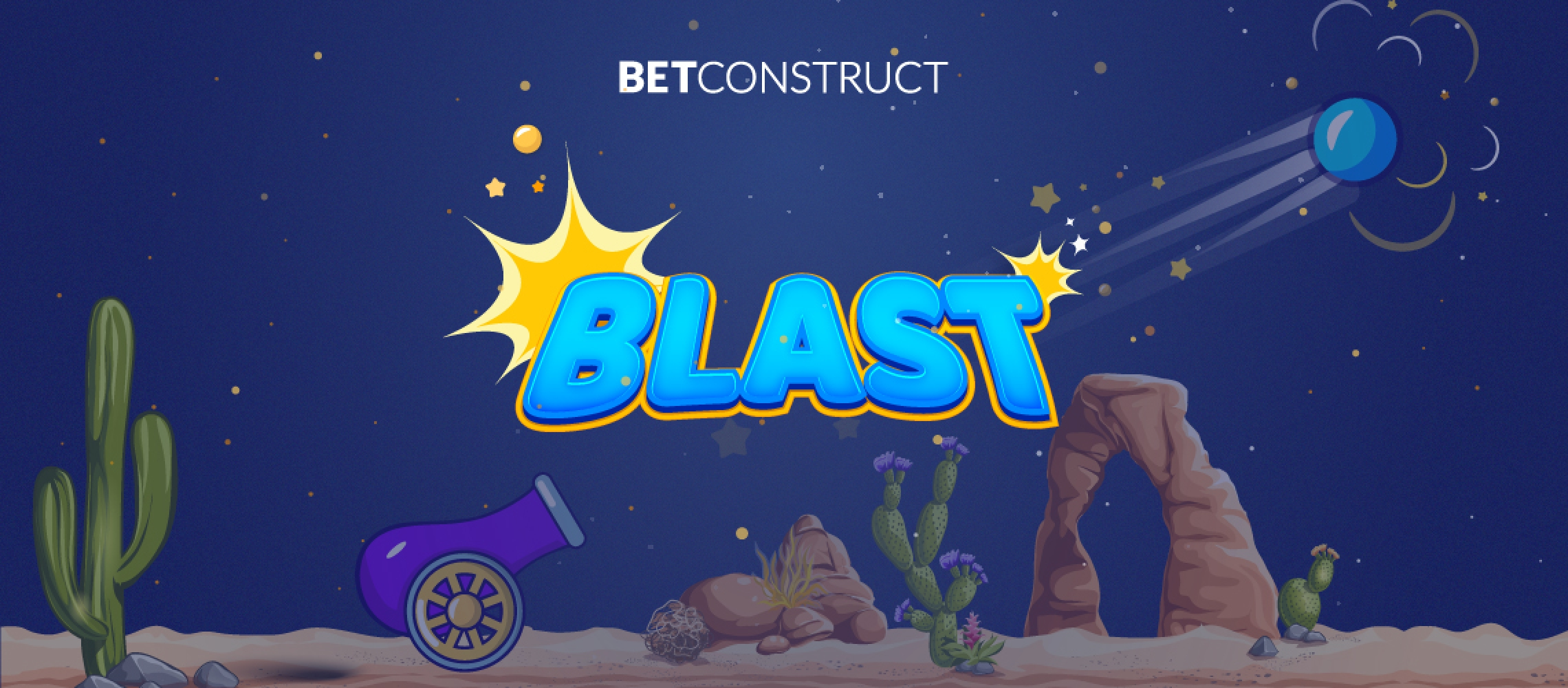 The Blast Online Slot Demo Game by Betconstruct
