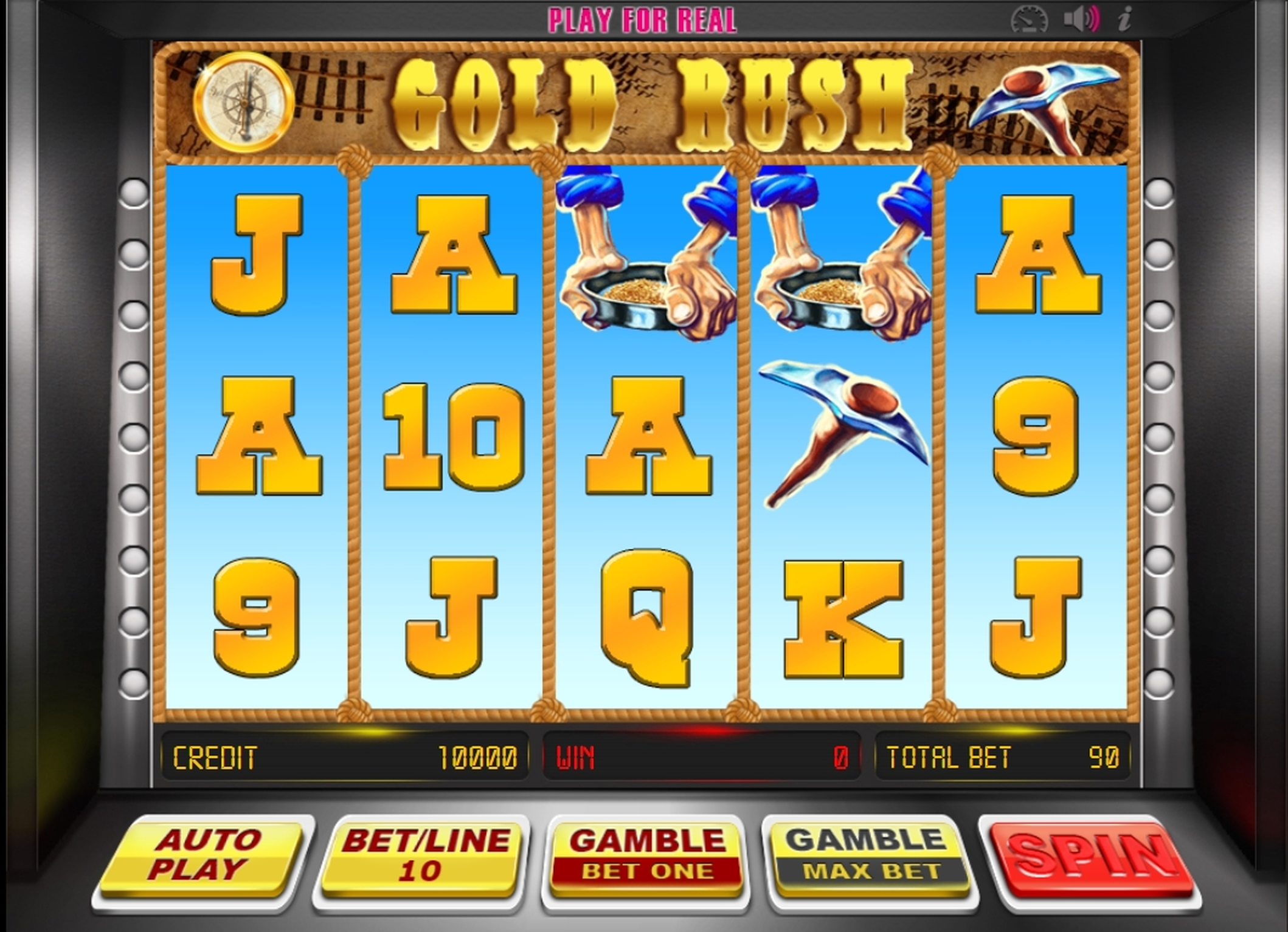 Reels in Gold Rush (BetConstruct) Slot Game by Betconstruct