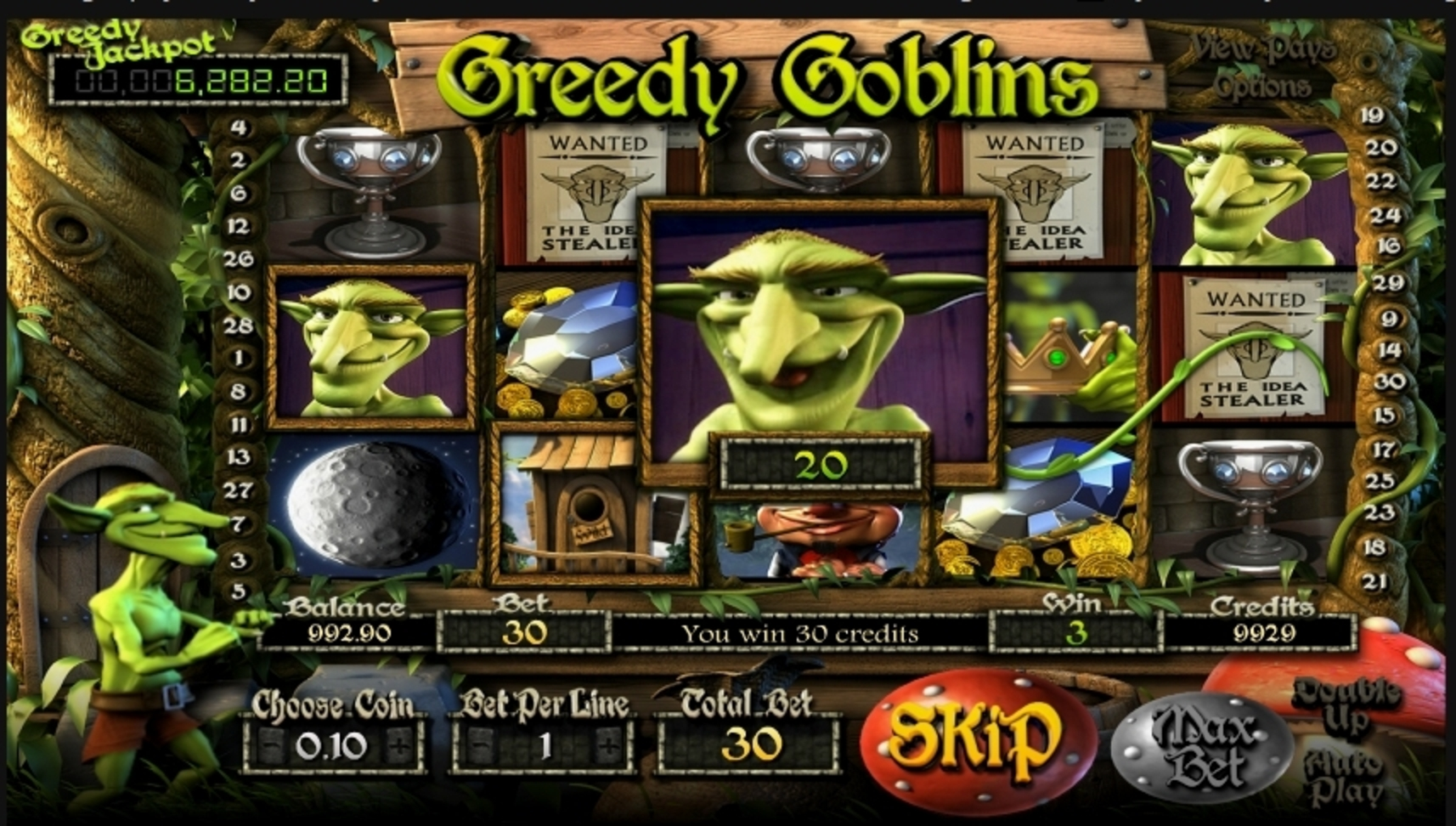 Win Money in Greedy Goblins Free Slot Game by Betsoft
