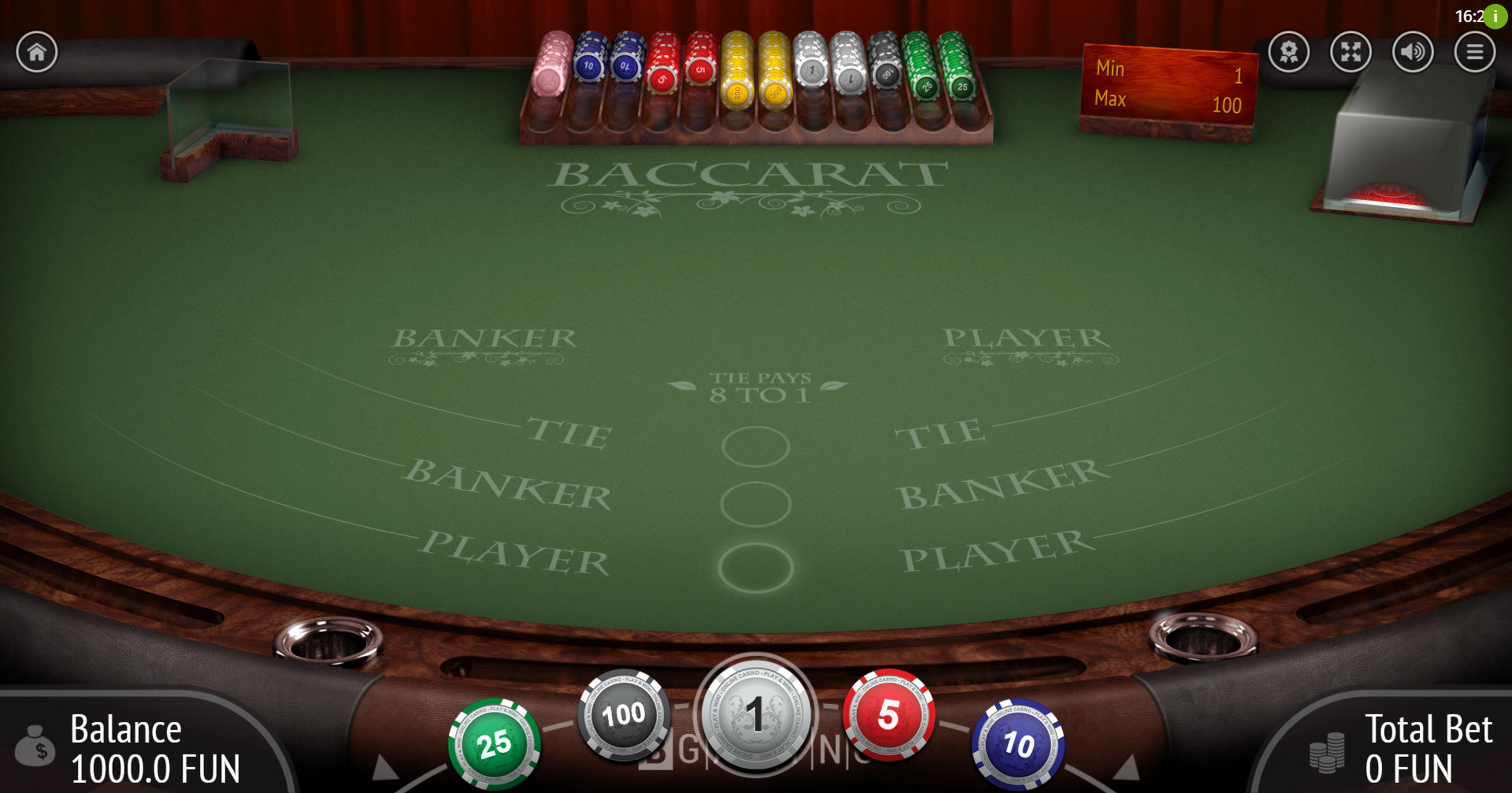 Reels in Baccarat (BGaming) Slot Game by BGAMING