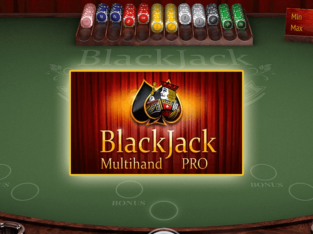 The Multihand Blackjack Pro (BGaming) Online Slot Demo Game by BGAMING