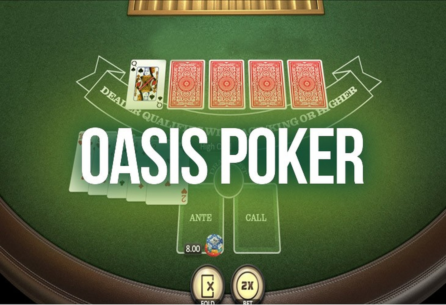 The Oasis Poker (BGaming) Online Slot Demo Game by BGAMING