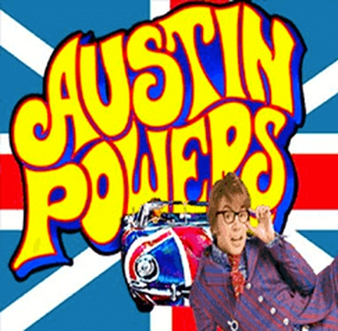 The Austin Powers Online Slot Demo Game by Blueprint Gaming