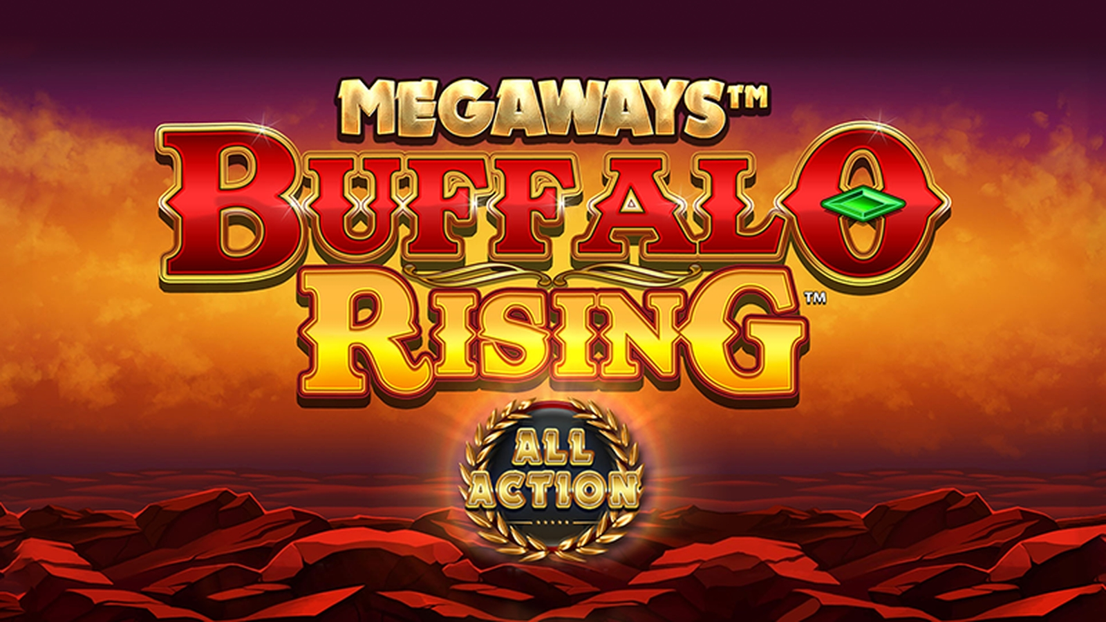 The Buffalo Rising Megaways All Action Online Slot Demo Game by Blueprint Gaming