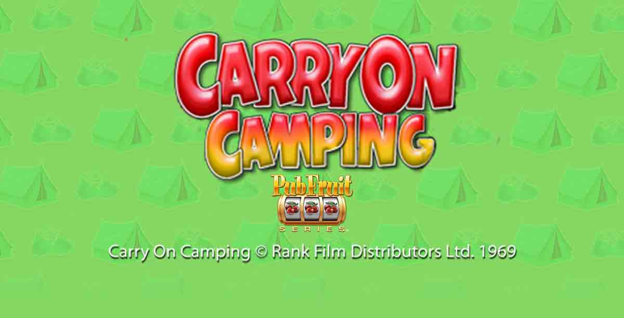 The Carry On Camping Pub Fruit Online Slot Demo Game by Blueprint Gaming