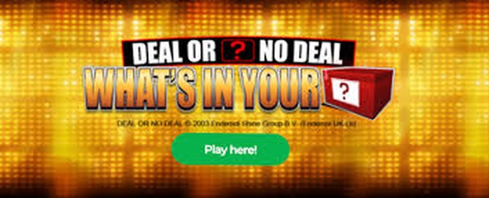 The Deal or No Deal: What's In Your Box Online Slot Demo Game by Blueprint Gaming