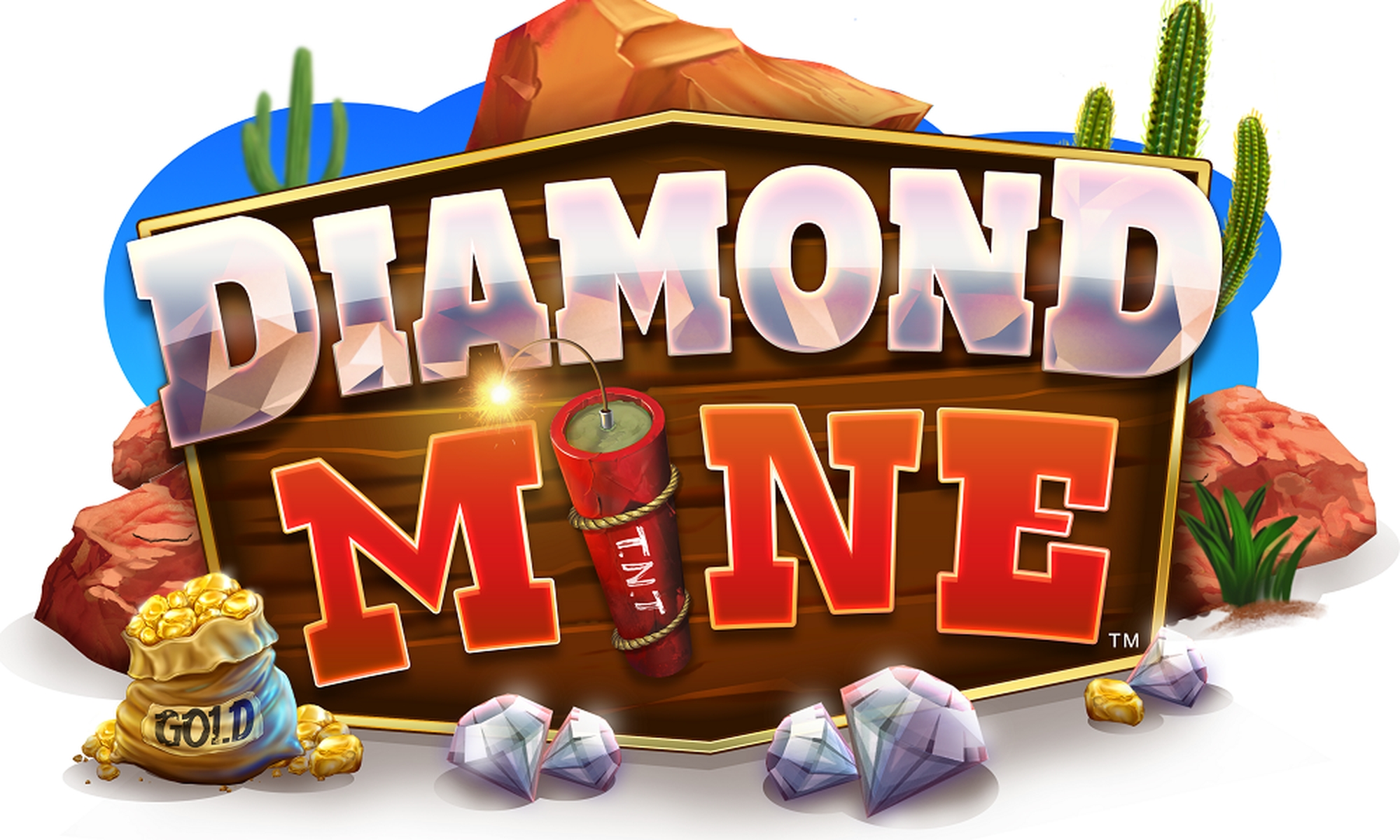 The Diamond Mine (Blueprint) Online Slot Demo Game by Blueprint Gaming