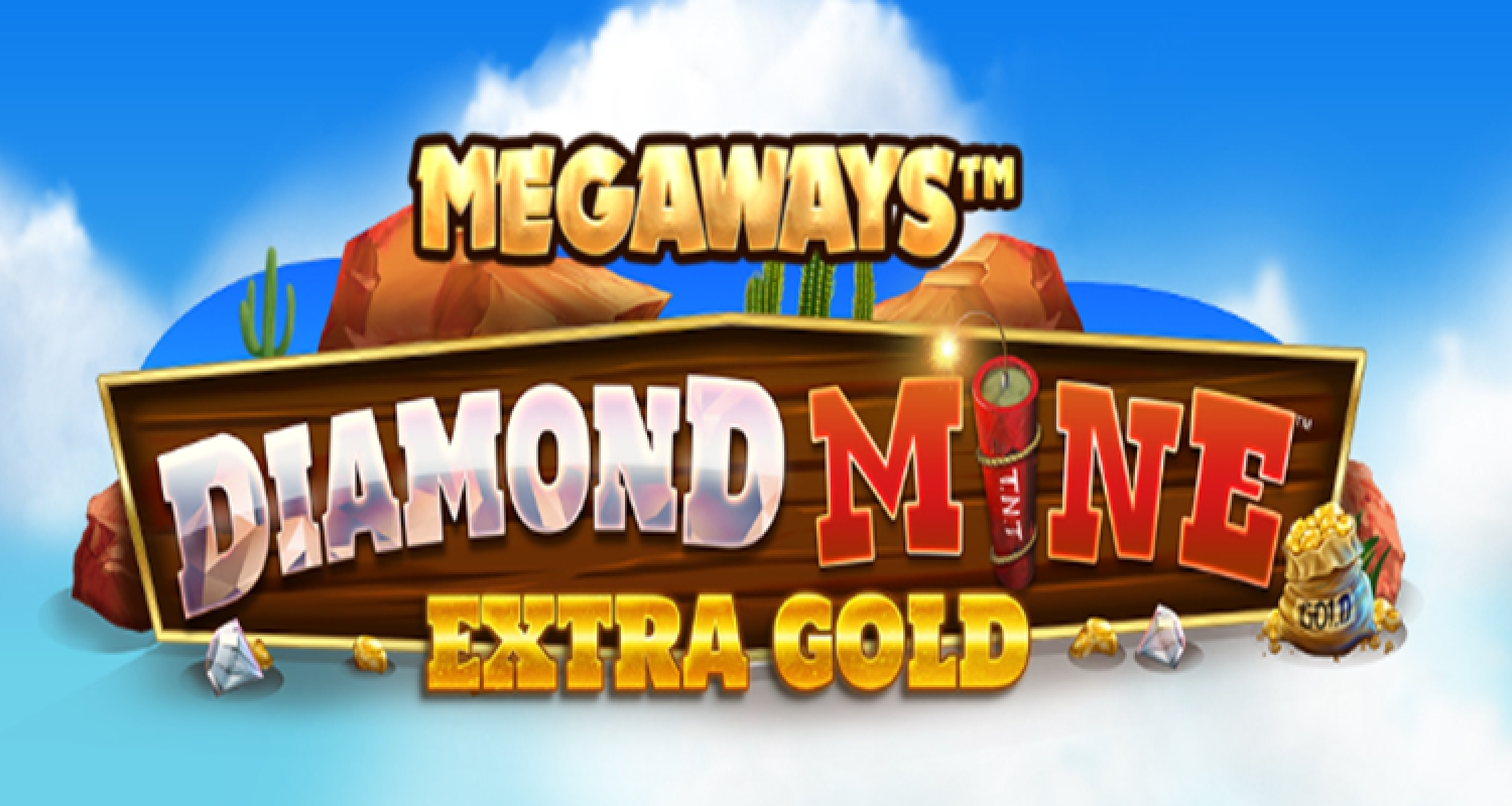 The Diamond Mine Extra Gold Megaways Online Slot Demo Game by Blueprint Gaming